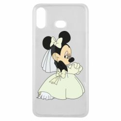 Чехол для Samsung A6s Minnie Mouse Bride