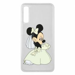 Чехол для Samsung A7 2018 Minnie Mouse Bride