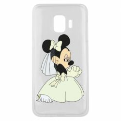 Чехол для Samsung J2 Core Minnie Mouse Bride