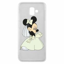 Чехол для Samsung J6 Plus 2018 Minnie Mouse Bride