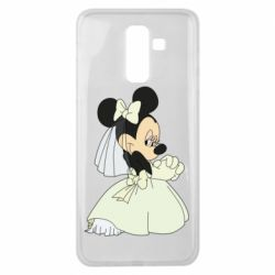 Чехол для Samsung J8 2018 Minnie Mouse Bride