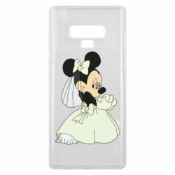 Чехол для Samsung Note 9 Minnie Mouse Bride