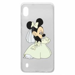 Чехол для Samsung A10 Minnie Mouse Bride