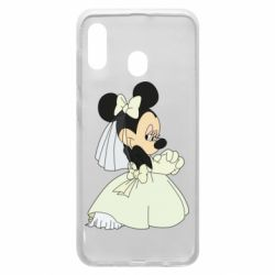 Чехол для Samsung A20 Minnie Mouse Bride
