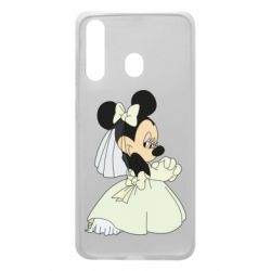 Чехол для Samsung A60 Minnie Mouse Bride