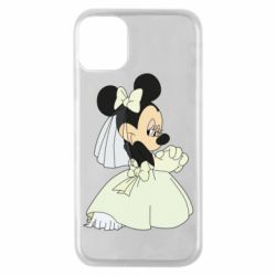 Чехол для iPhone 11 Pro Minnie Mouse Bride