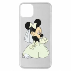 Чехол для iPhone 11 Pro Max Minnie Mouse Bride