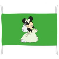 Флаг Minnie Mouse Bride