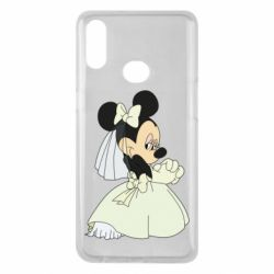 Чехол для Samsung A10s Minnie Mouse Bride
