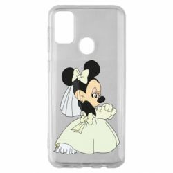Чехол для Samsung M30s Minnie Mouse Bride