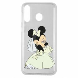 Чехол для Samsung M30 Minnie Mouse Bride