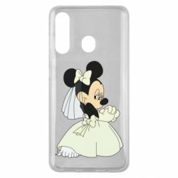 Чехол для Samsung M40 Minnie Mouse Bride