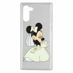 Чехол для Samsung Note 10 Minnie Mouse Bride