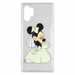 Чехол для Samsung Note 10 Plus Minnie Mouse Bride