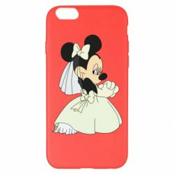 Чехол для iPhone 6 Plus/6S Plus Minnie Mouse Bride