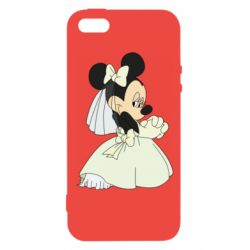 Чехол для iPhone5/5S/SE Minnie Mouse Bride