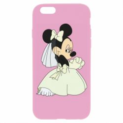 Чехол для iPhone 6/6S Minnie Mouse Bride