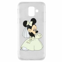 Чехол для Samsung A6 2018 Minnie Mouse Bride