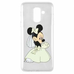Чехол для Samsung A6+ 2018 Minnie Mouse Bride
