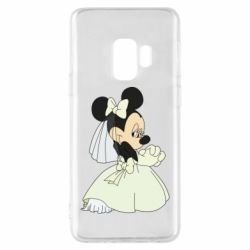 Чехол для Samsung S9 Minnie Mouse Bride