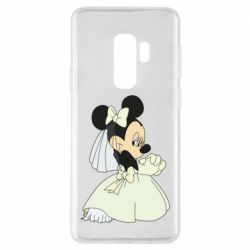 Чехол для Samsung S9+ Minnie Mouse Bride