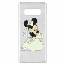 Чехол для Samsung Note 8 Minnie Mouse Bride