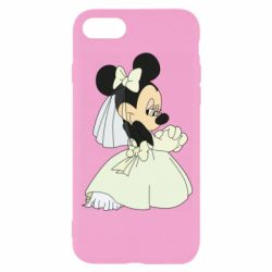 Чехол для iPhone 8 Minnie Mouse Bride