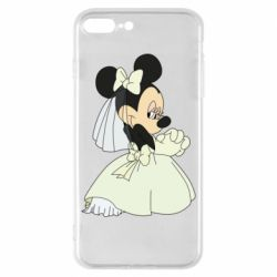 Чехол для iPhone 8 Plus Minnie Mouse Bride