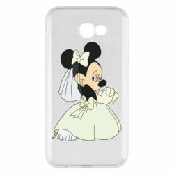 Чехол для Samsung A7 2017 Minnie Mouse Bride