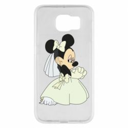 Чехол для Samsung S6 Minnie Mouse Bride