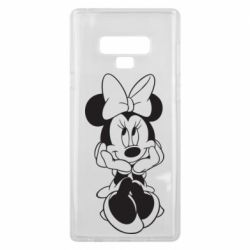 Чехол для Samsung Note 9 Minnie Mouse Face