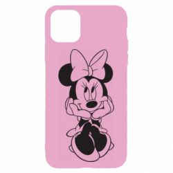 Чехол для iPhone 11 Minnie Mouse Face
