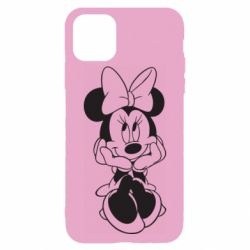 Чехол для iPhone 11 Pro Minnie Mouse Face