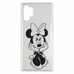 Чехол для Samsung Note 10 Plus Minnie Mouse Face