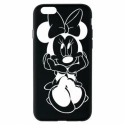Чехол для iPhone 6/6S Minnie Mouse Face