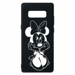 Чехол для Samsung Note 8 Minnie Mouse Face