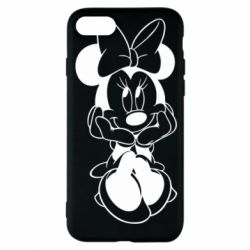 Чехол для iPhone 8 Minnie Mouse Face