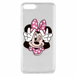 Чехол для Xiaomi Mi Note 3 Minnie Mouse