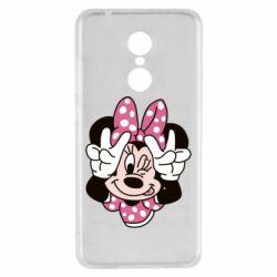 Чехол для Xiaomi Redmi 5 Minnie Mouse