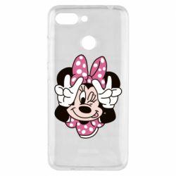 Чехол для Xiaomi Redmi 6 Minnie Mouse