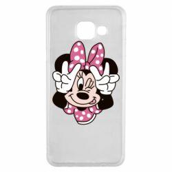 Чохол для Samsung A3 2016 Minnie Mouse