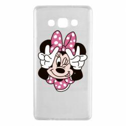 Чохол для Samsung A7 2015 Minnie Mouse