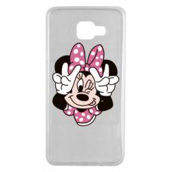 Чохол для Samsung A7 2016 Minnie Mouse