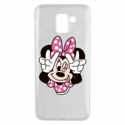 Чохол для Samsung J6 Minnie Mouse