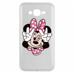 Чохол для Samsung J7 2015 Minnie Mouse