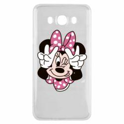 Чохол для Samsung J7 2016 Minnie Mouse