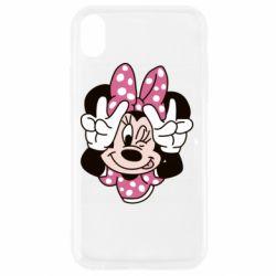 Чохол для iPhone XR Minnie Mouse