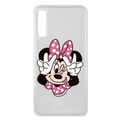 Чохол для Samsung A7 2018 Minnie Mouse