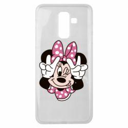 Чохол для Samsung J8 2018 Minnie Mouse