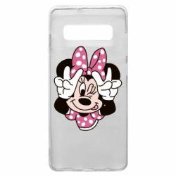 Чохол для Samsung S10+ Minnie Mouse